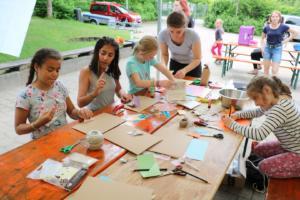 3. Tag - Spaß bei Workshops und Action